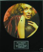 "KYLIE MINOGUE - Framed 12"" Picture Disc - CHOCOLATE"